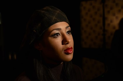 "Margot Bingham Actress/singer Margot Bingham, who stars in the HBO series ""Boardwalk Empire,"" meets members of the media Tuesday at the Omni William Penn Hotel."