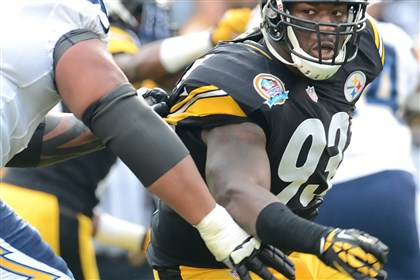 worilds1030-1 Jason Worilds has replaced rookie Jarvis Jones as the Steelers' starting outside linebacker.