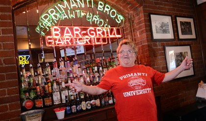 PrimantiMagazine01-1 Server Toni Haggerty has worked at Primanti Bros. in the Strip District since 1974.