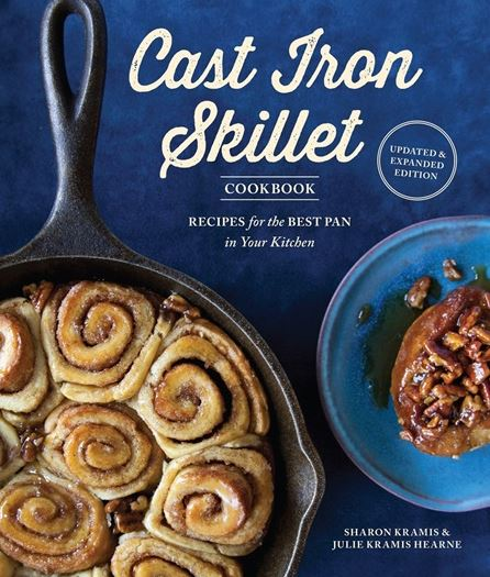 "SkilletFood ""The Cast Iron Skillet Cookbook"" by Sharon Kramis & Julie Kramis Hearne speaks my language."