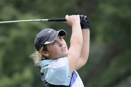 Central Valley Golf Macky Fouse won the PIAA Class AA individual girls golf championship then led her Warriors teammates to the state team title as well.