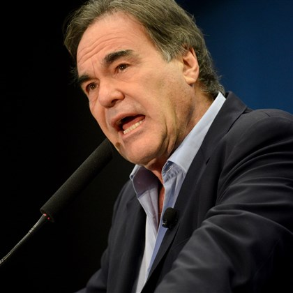 "Oliver Stone Oliver Stone, director of the movie ""JFK,"" released in 1991."