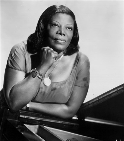 MaryLouWilliams Jazz artist Mary Lou Williams.