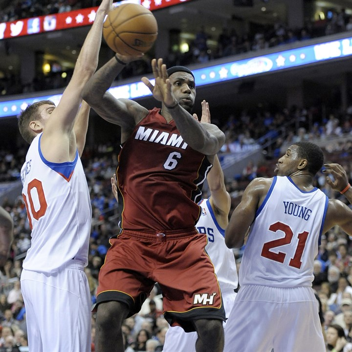 lebron1227 Miami Heat star LeBron James was selected as The Associated Press' male athlete of the year.