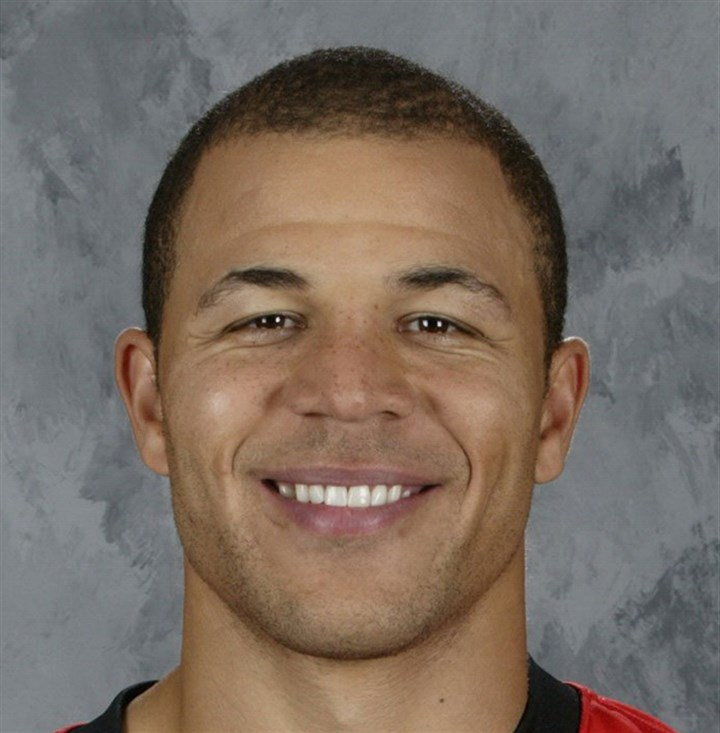 iginlamug1031 Former Penguins and Calgary Flames winger Jarome Iginla.