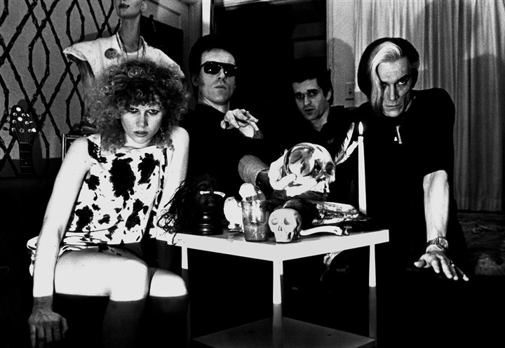 "Cramps The Cramps are among the groups captured by seminal punk rock photographer Theresa Kereakes in ""The Punk Rock Day of the Dead"" exhibit at Get Hip Recordings in Manchester."