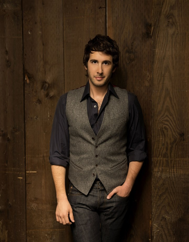 JoshGroban Josh Groban will perform at Consol Energy Center Saturday night.