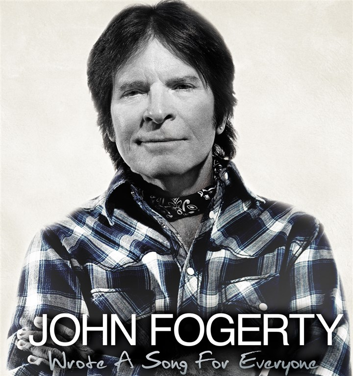 "Fogerty2 Album cover for ""Wrote a Song for Everyone,"" by John Fogerty."