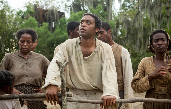 "12years Chiwetel Ejiofor as Solomon Northup in ""12 Years a Slave."""