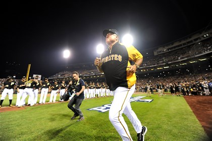 "Clint Hurdle, October 9 ""Don't be sad it's over. Be glad it happened."" -- Clint Hurdle, October 9, 2013"