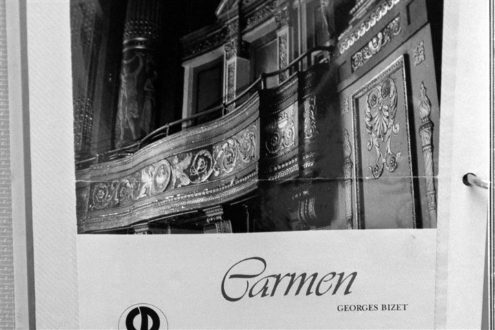 "portfolio1101 A Pittsburgh Opera program book from ""Carmen"" dated l983."