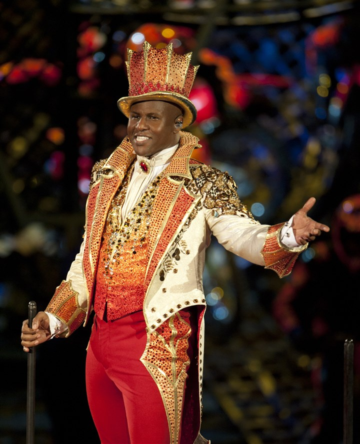 circus2 Johnathan Lee Iverson is the youngest-ever Ringling Bros. ringmaster.