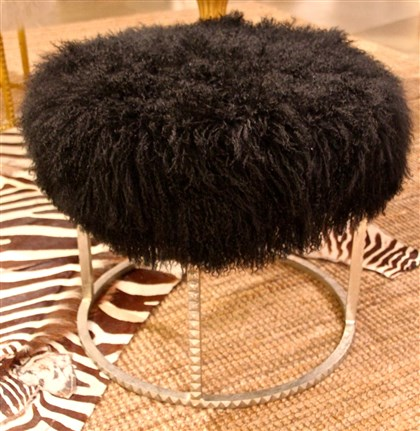 Stool Emporium Home's black sheep stool.