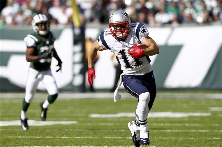 edelman1103 Patriots wide receiver Julian Edelman can also be a dangerous return specialist.