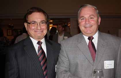 "OhioValleyseen Dr. Angelo ""Chuck"" Lupariello, and Mark Brennan."