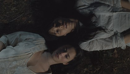 "TheTruthAboutEmanuel1 Kaya Scodelario and Jessica Biel in ""The Truth About Emanuel."""