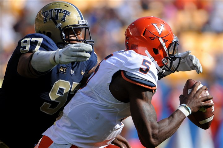 donald1120 Pitt defensive lineman Aaron Donald is nominated for the Outland Trophy.