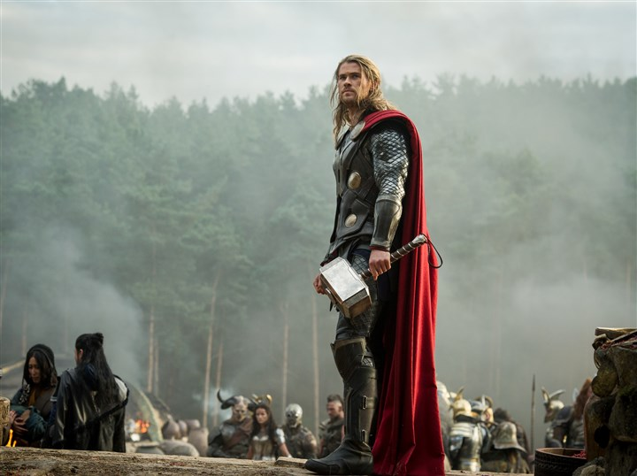 "Thor4 Chris Hemsworth stars as Thor in ""Thor: The Dark World."""