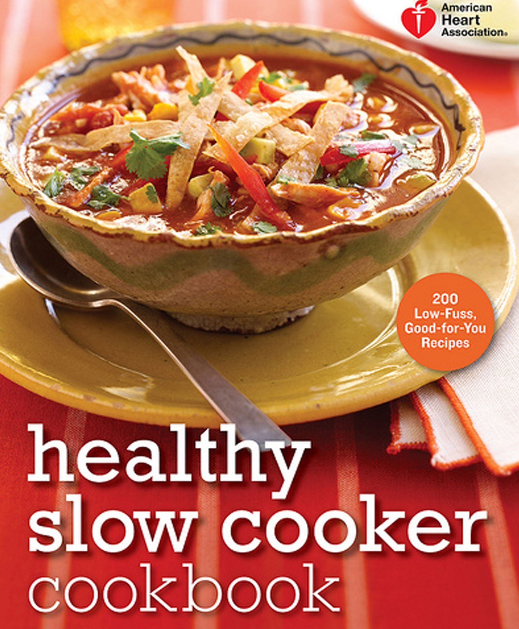 "Healthycooker  American Heart Association's ""Healthy Slow Cooker Cookbook."""