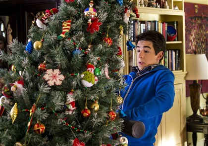 "Pete's Christmas In the Hallmark Channel original movie ""Pete's Christmas,"" an overlooked middle child, portrayed by Zachary Gordon, finds himself in the unexpected spotlight when he realizes his family's terrible Christmas day keeps repeating."