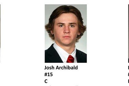 Prospect Josh Archibald Josh Archibald on the 2012 Penguins Development Camp photo roster.