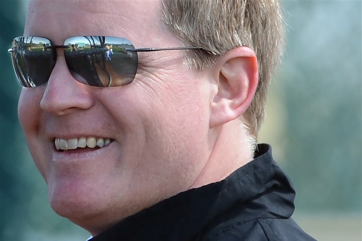 huntington1110 Neal Huntington, senior vice president and general manager of the Pittsburgh Pirates.