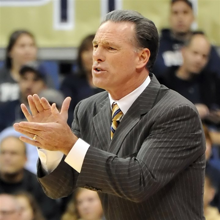 dixon1108a-2 Pitt coach Jamie Dixon said he works hard with his staff to create his team's schedule each year.