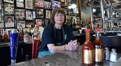 oysterhouse Mary Colbert of The Original Oyster House, Downtown, has had the same boss for 34 years.