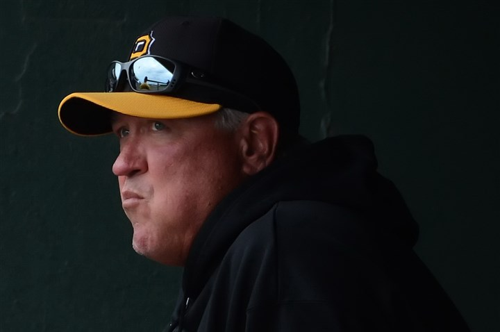 hurdle1111b-2 Pirates manager Clint Hurdle.