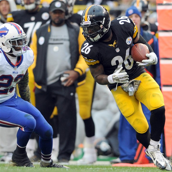 steele1124 Steelers running back Le'Veon Bell isn't the only rusher finding little room to run in the NFL this year.