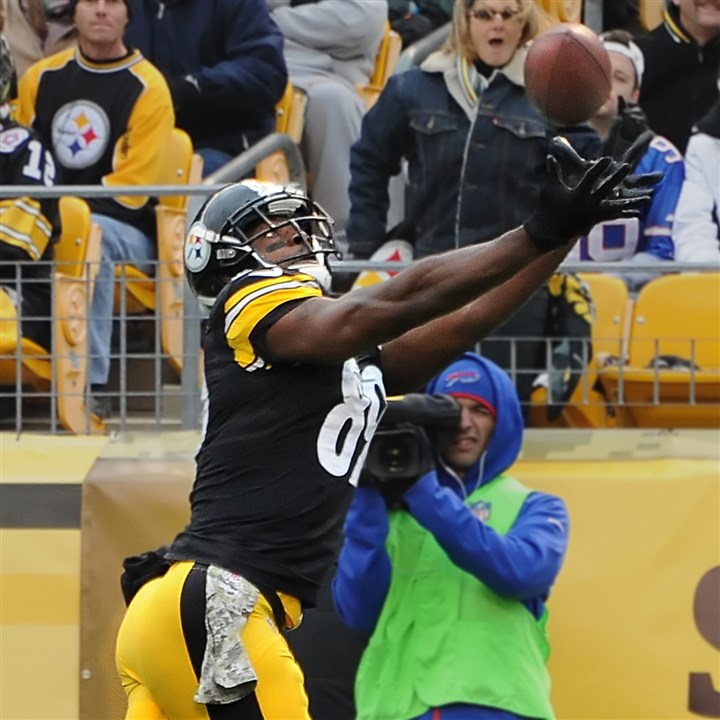 20131109pdSteelersSports01 Jerricho Cotchery: 16 receptions and four touchdowns in the past four games.