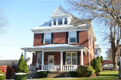 Colonial in Coraopolis This four-bedroom, three-story Colonial in Coraopolis is on the market for $169,900.