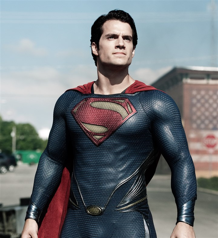 "ManofSteelDVD-97 Henry Cavill as Superman in ""Man of Steel."""