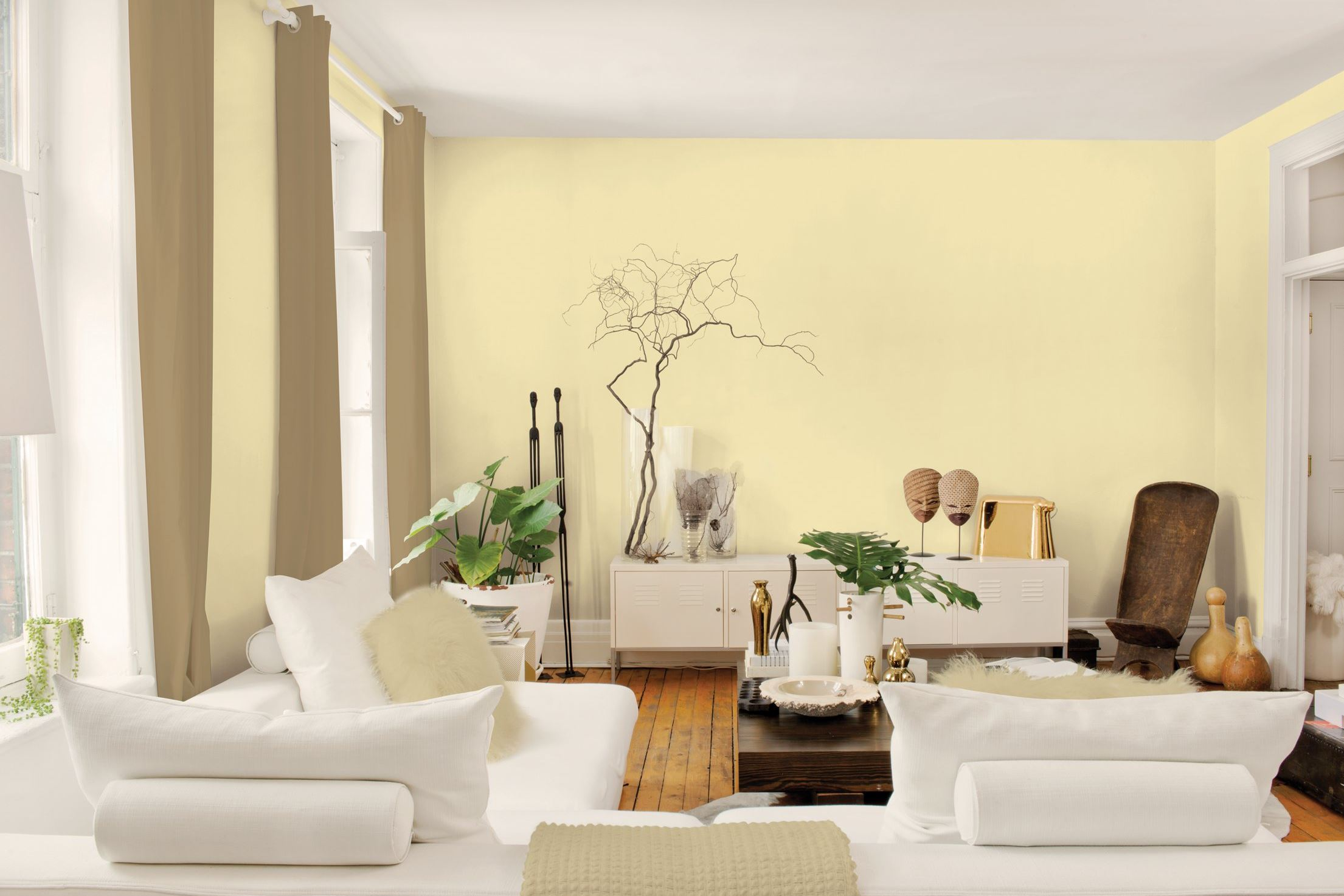 Yellow Paint Colors For Living Room Fair With Yellow Color Paint Living Room Pictures