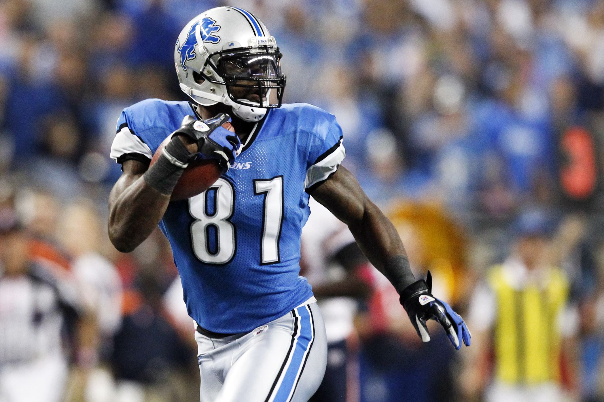 Detroit's Calvin Johnson has no peers today, and maybe not ...