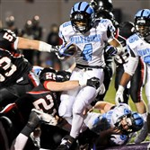 Star Woodland Hills running back Miles Sanders has not reneged on his Penn State commitment, according to his coach.