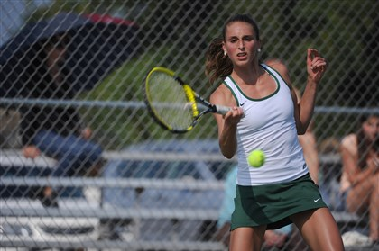 20131115 VX Athlete of the week Marlys Bridgham Pine-Richland's Marlys Bridgham