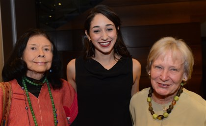 WomenSEEN02-8 E. Maxine Bruhns, Laila Al-Soulaiman and Theresa Whiteside Nimick.