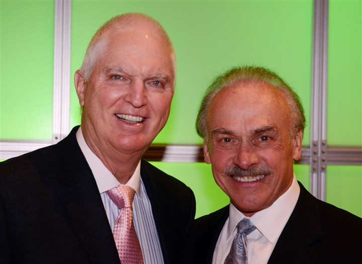 CannonSeen01 Andy Russell and Rocky Bleier.