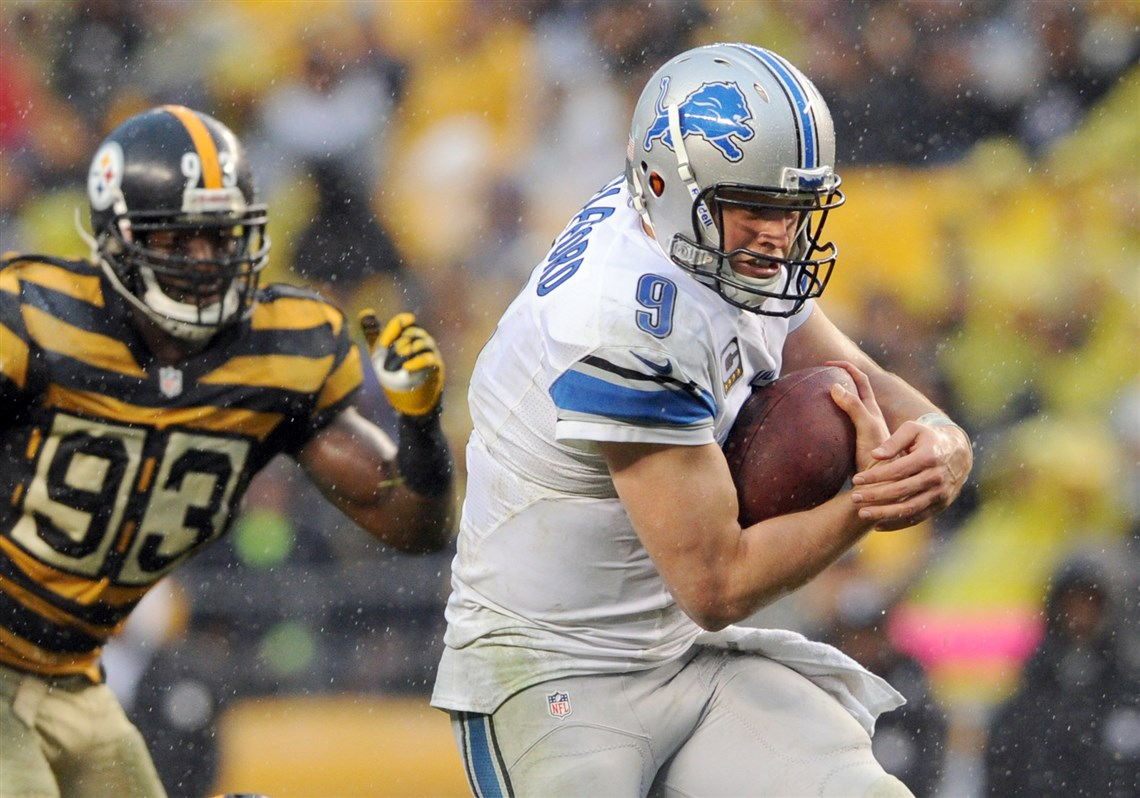 Matthew Stafford may be the toughest test yet for the Steelers