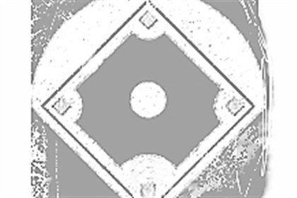 Graphic of a baseball diamond