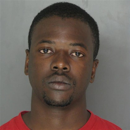 20131118TiganaLOCAL Souleymane Tigana, 23, of McKees Rocks has been arraigned on charges that he raped a woman on the Duquesne University campus in September.