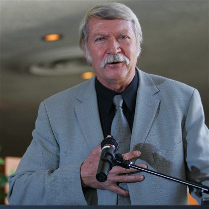 "karolyi1120-1 Gymnastics coach Bela Karolyi, seen in New York in 2005, said ""the pool of talent is so high"" among current competitors."