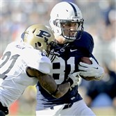 "For the first time in a long time, Penn State tight end Adam Breneman feels like he's ""good at football again."""