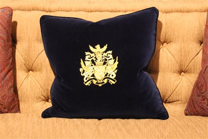 Althorp pillow A pillow fit for an aristocrat from the Althorp Collection