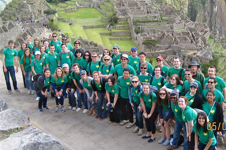 2012 Heinz Chapel Choir The 2012 choir at Machu Picchu, Peru.