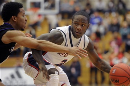 dukesbb1125 Duquesne's Tra'Vaughn White is comfortable in his new role coming off the bench.