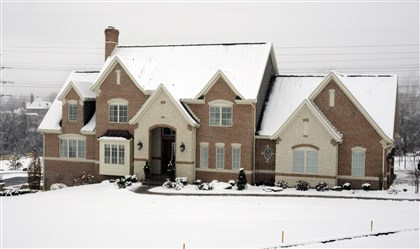 20131126RARhome1 This four-bedroom home in Jefferson Hills was built by Costa Homebuilders..