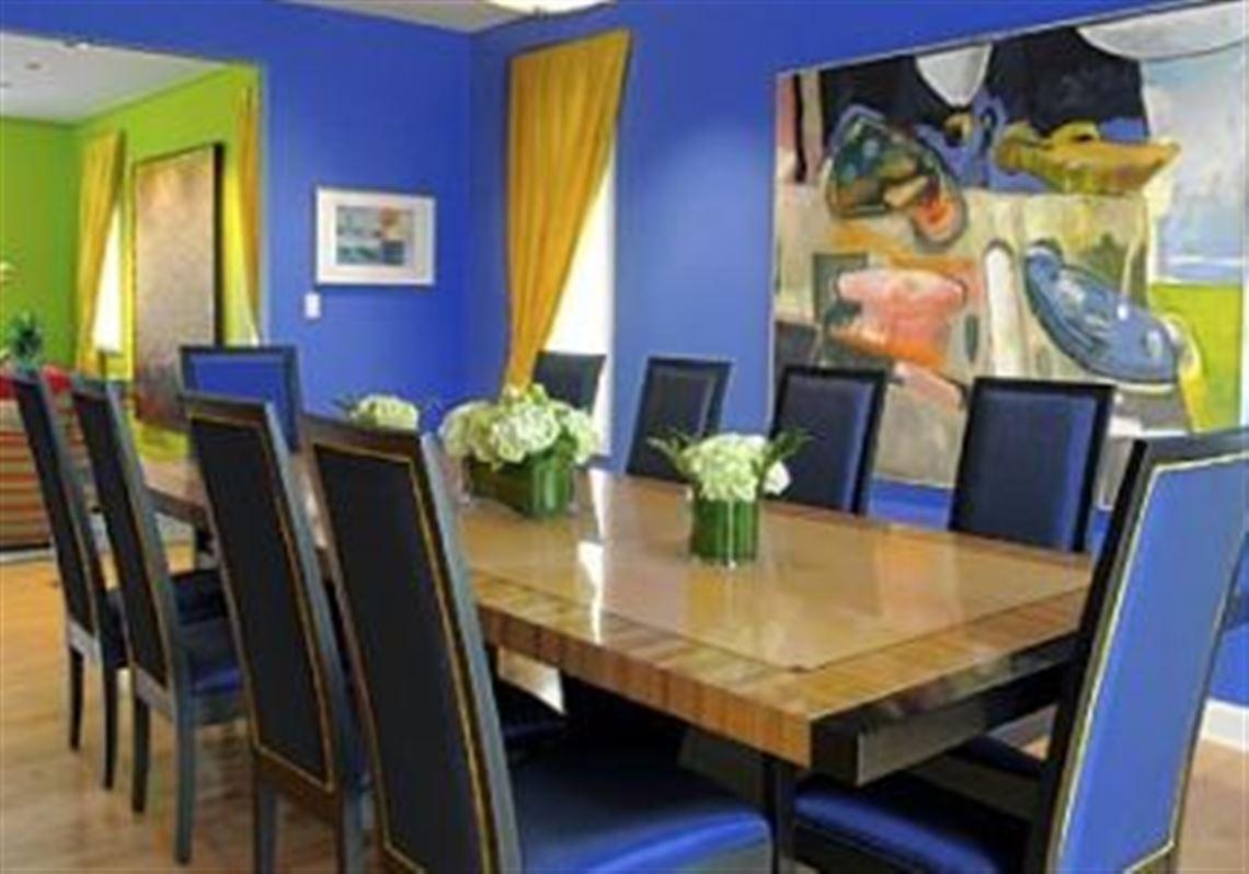 Dining Room By Interior Decorator Julianne Fallert