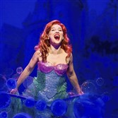 "Jessica Grove is Ariel in ""Disney's The Little Mermaid"" for Pittsburgh CLO."